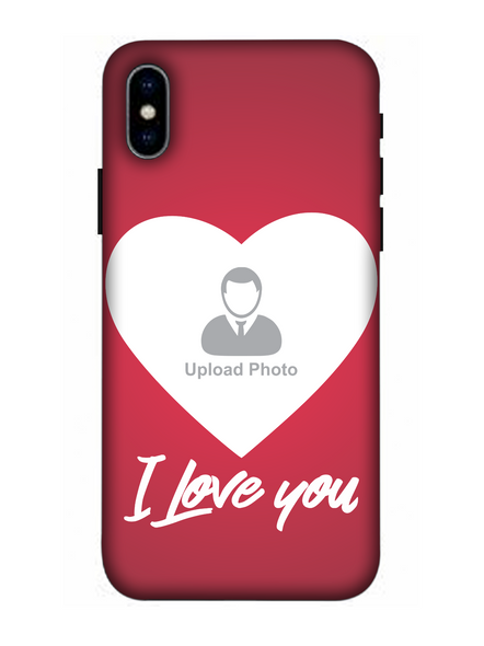 3D I Love You Customised Mobile Back Cover for Apple iPhone-Apple-iPhone-X-01104