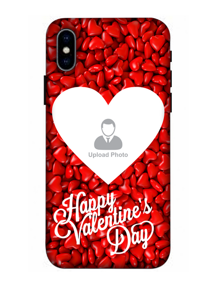 3D Heart Candies Valentines Mobile Back Cover for Apple iPhone-Apple-iPhone-X-04113