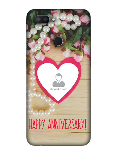 3D Happy Anniversary Personalized Mobile Back Cover for OPPO-REALME-2-Pro--01115