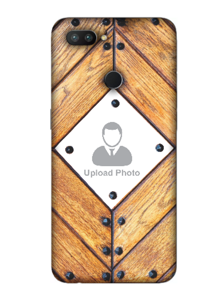 3D Beautiful Wooden Theme Personalized Mobile Back Cover for OPPO-REALME-2-Pro--03122