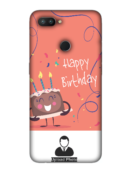 3D happy Birthday Cake Personalized Back Cover for OPPO-REALME-2-Pro--01132