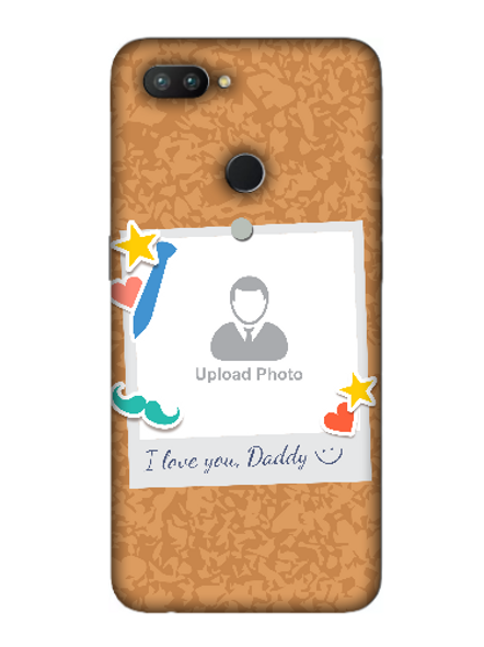 3D I love You Daddy hanging Sticker Mobile Back Cover for OPPO-REALME-2-Pro--01137