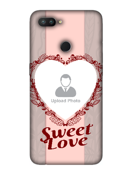 3D Elegent Heart Personalized Mobile Back Cover for OPPO-REALME-2-Pro--05146