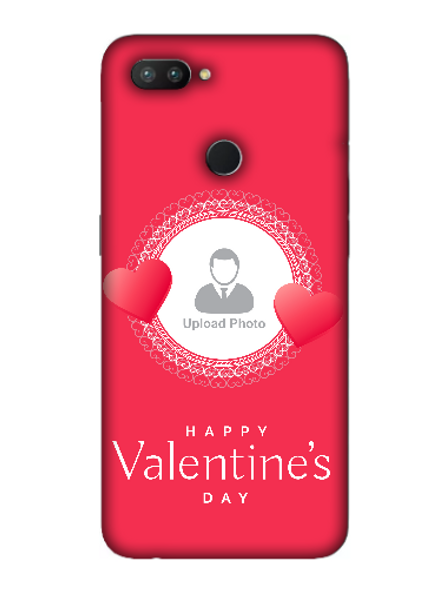 3D Beautiful Hearts Boundry Valentine's Day Printed Back Cover for OPPO-REALME-2-Pro--02149