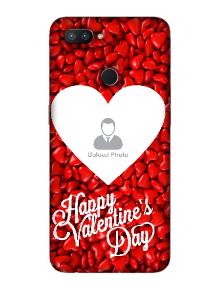 3D Heart Candies Valentines Mobile Back Cover for OPPO-REALME-2-Pro--04151