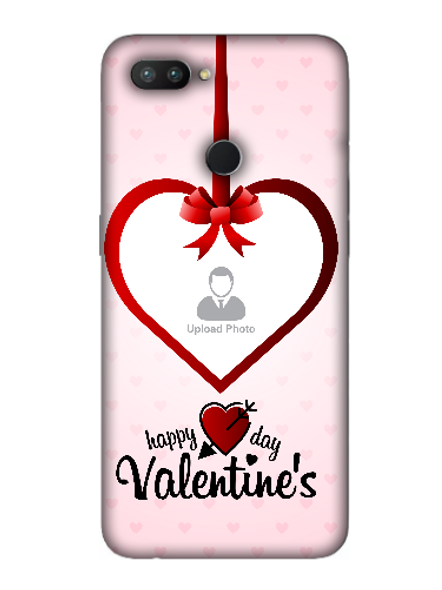 3D Elegent Valentines Day Personalized Mobile Back Cover for OPPO-REALME-2-Pro--05152