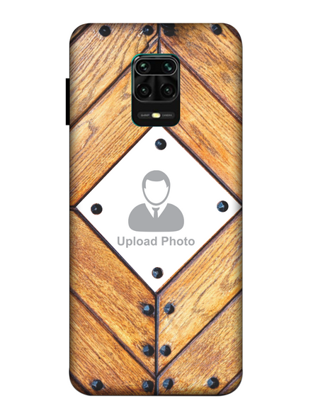 3D Beautiful Wooden Theme Personalized Mobile Back Cover for Xiaomi-Redmi-Note-9-P-03160