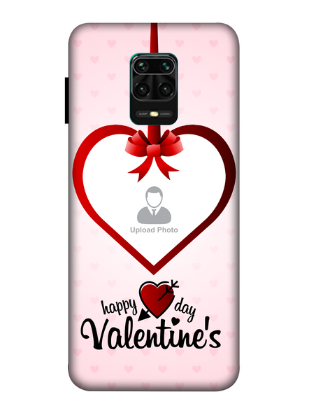 3D Elegent Valentines Day Personalized Mobile Back Cover for Xiaomi-Redmi-Note-9-P-05190