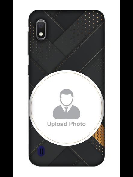 3D Elegent Looking Customised Mobile Back Cover for Samsung-SAMSUNG-A10--06201