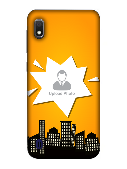 3D Buildings View Customised Mobile Back Cover for Samsung-SAMSUNG-A10--07202