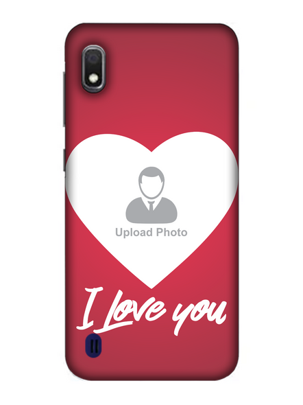 3D I Love You Customised Mobile Back Cover for Samsung-SAMSUNG-A10--01218