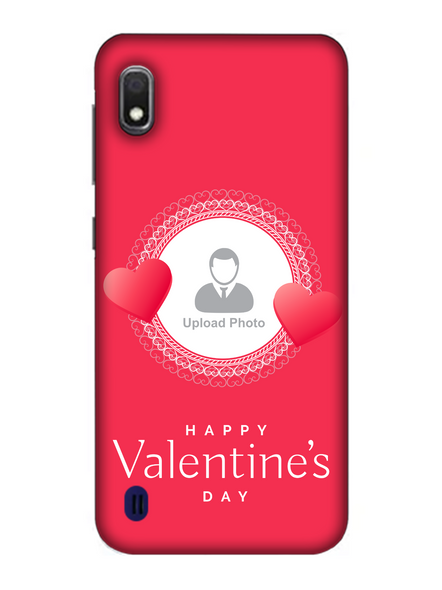 3D Beautiful Hearts Boundry Valentine's Day Printed Back Cover for Samsung-SAMSUNG-A10--02225