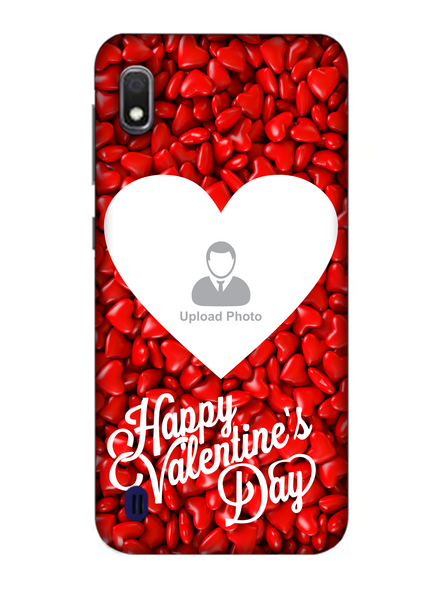 3D Heart Candies Valentines Mobile Back Cover for Samsung-SAMSUNG-A10--04227