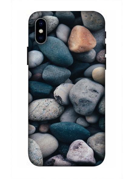 Apple iPhone3D Designer Big Rocks Marble Printed Mobile Cover-AppleiPhoneX-MOB002716