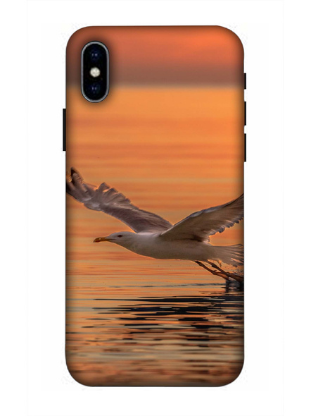 Apple iPhone3D Designer Bird Hunting Printed Mobile Cover-AppleiPhoneX-MOB002729