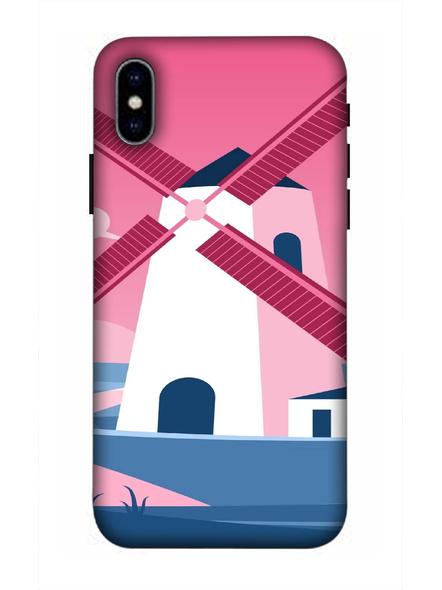Apple iPhone3D Designer Field Fan Printed Mobile Cover-AppleiPhoneX-MOB002981