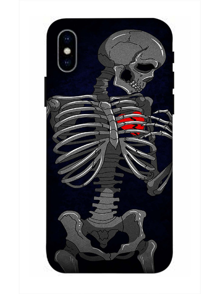 Apple iPhone3D Designer Finding My Heart Printed Mobile Cover-AppleiPhoneX-MOB002983