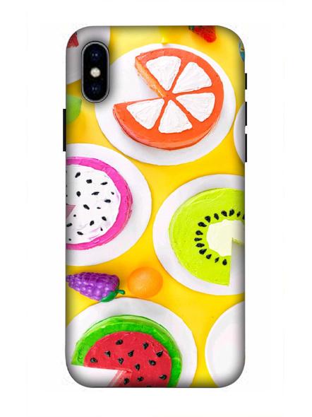 Apple iPhone3D Designer Fruits Donats Printed Mobile Cover-AppleiPhoneX-MOB002984