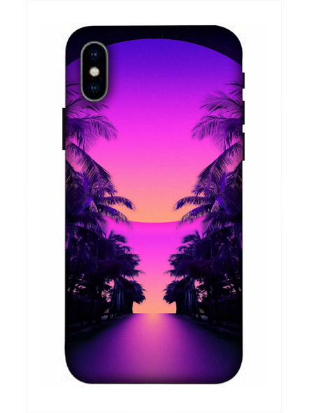Apple iPhone3D Designer Jungle Beautiful View Printed Mobile Cover-AppleiPhoneX-MOB002988