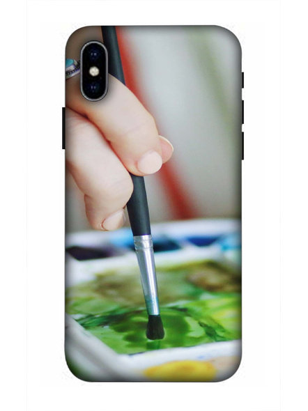Apple iPhone3D Designer Painting Colors Printed Mobile Cover-AppleiPhoneX-MOB003011