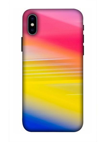 Apple iPhone3D Designer Random Catchy Colors Printed Mobile Cover-AppleiPhoneX-MOB003024