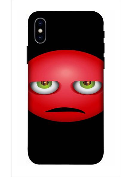 Apple iPhone3D Designer Sad Emoji Printed Mobile Cover-AppleiPhoneX-MOB003029
