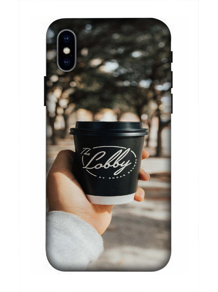 Apple iPhone3D Designer The Lobby Coffee Printed Mobile Cover-AppleiPhoneX-MOB003056