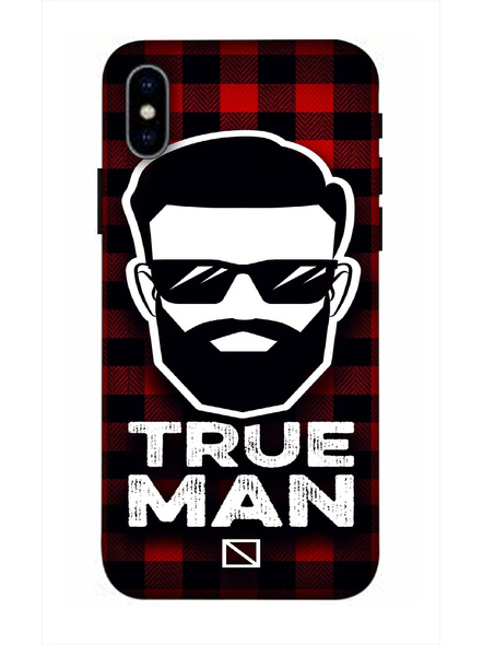 Apple iPhone3D Designer True Man Printed Mobile Cover-AppleiPhoneX-MOB003060