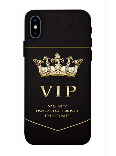 Apple iPhone3D Designer VIP Very Important Phone Printed Mobile Cover-AppleiPhoneX-MOB003063
