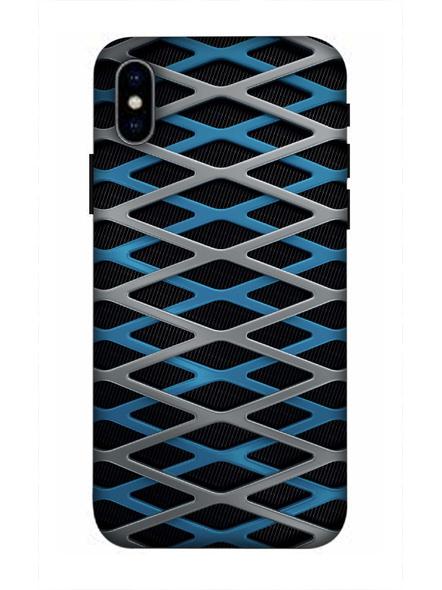 Apple iPhone3D Designer Zig Zag Pattern Printed Mobile Cover-AppleiPhoneX-MOB003068