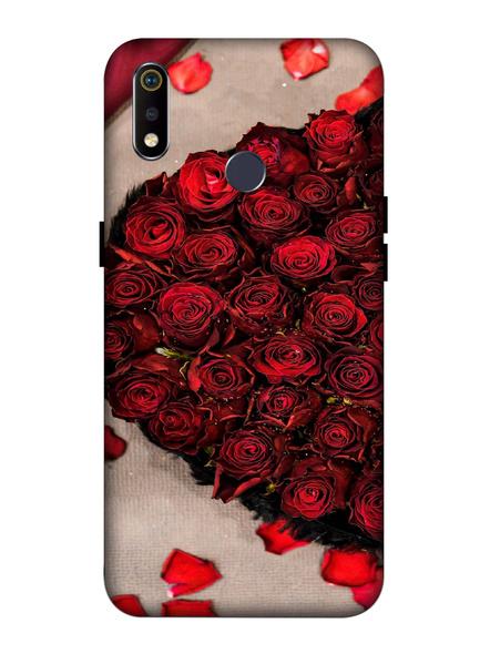 Oppo 3D Designer Beautiful Rose Love Printed  Mobile Cover-Realme3i-MOB002716