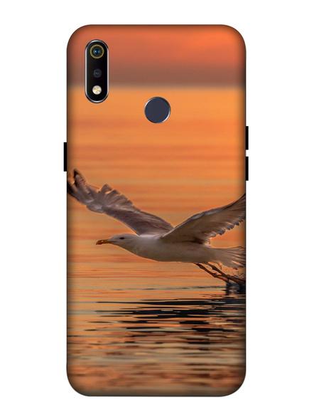 Oppo 3D Designer Bird Hunting Printed  Mobile Cover-Realme3i-MOB002735