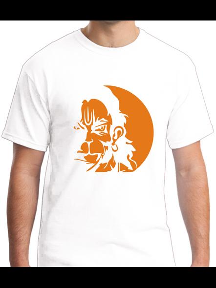 Mere Pass Maa Hai Round Neck Tshirt for Men-RNECK0004-White-M