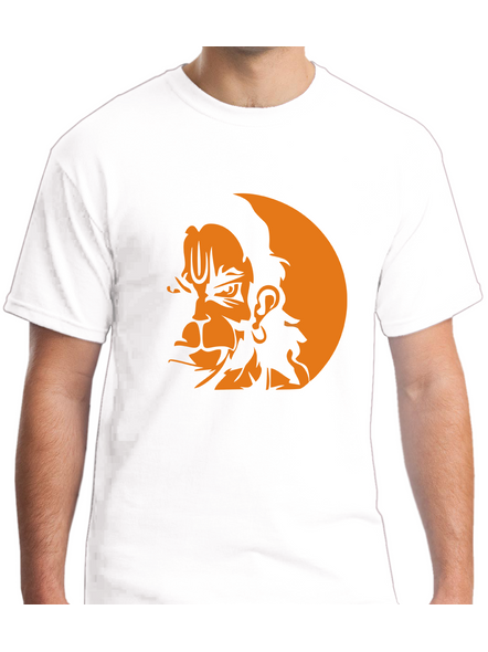 Mere Pass Maa Hai Round Neck Tshirt for Men-RNECK0004-White-L