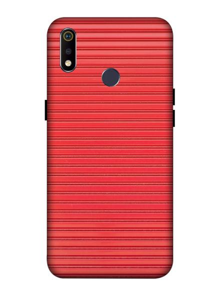Oppo 3D Designer Peach Lines Printed  Mobile Cover-Realme3i-MOB003073