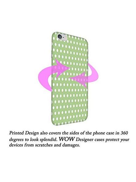 Oppo 3D Designer Peach Lines Printed  Mobile Cover-1