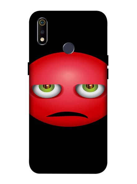 Oppo 3D Designer Sad Emoji Printed  Mobile Cover-Realme3i-MOB003086
