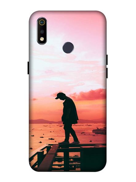 Oppo 3D Designer Thinking for Best Printed  Mobile Cover-Realme3i-MOB003103