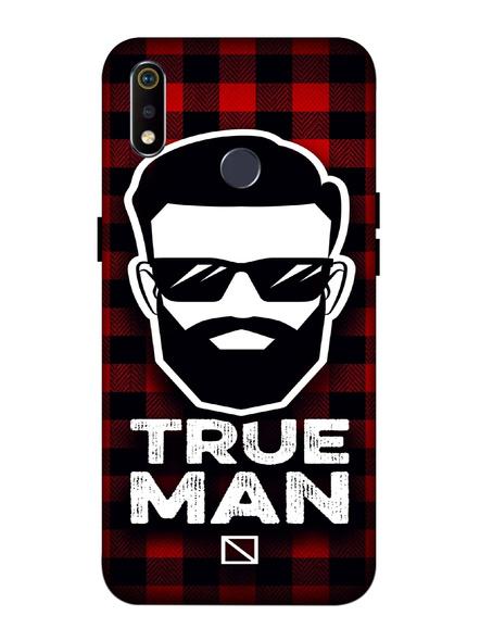 Oppo 3D Designer True Man Printed  Mobile Cover-Realme3i-MOB003106