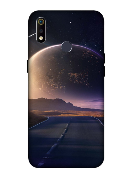 Oppo 3D Designer Universe View Printed  Mobile Cover-Realme3i-MOB003107