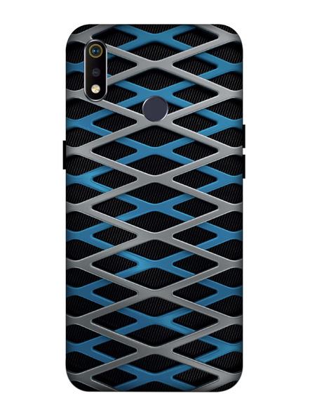 Oppo 3D Designer Zig Zag Pattern Printed  Mobile Cover-Realme3i-MOB003120
