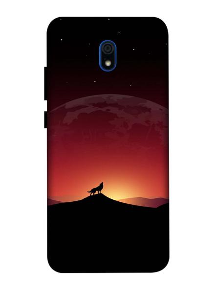 Xiaomi 3D Designer Beautiful Fox in Evening Printed Mobile Cover-Redmi8A-MOB002706
