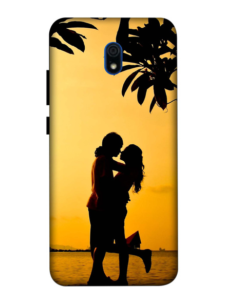 Xiaomi 3D Designer Couple in the Evening Printed Mobile Cover-Redmi8A-MOB002967