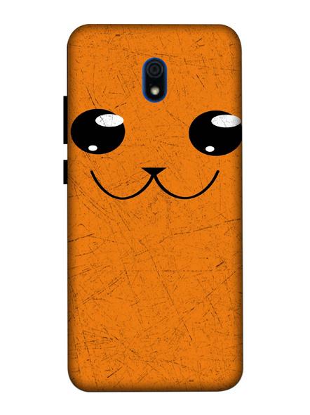 Xiaomi 3D Designer Cute Cat Face Printed Mobile Cover-Redmi8A-MOB002987