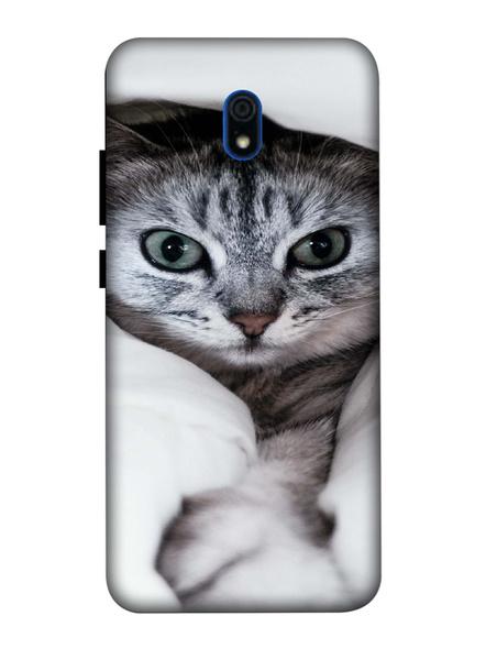 Xiaomi 3D Designer Cute Kitty Cat Printed  Mobile Cover-Redmi8A-MOB002988