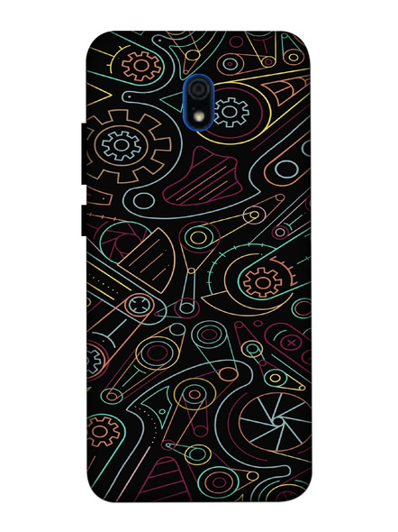 Xiaomi 3D Designer Designer Pattern Printed Mobile Cover-Redmi8A-MOB002994