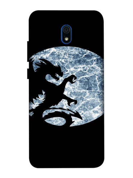 Xiaomi 3D Designer Dragon in the Night Printed Mobile Cover-Redmi8A-MOB002998