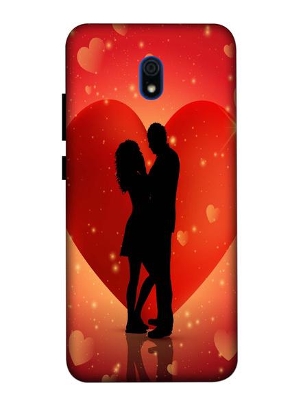Xiaomi 3D Designer Elegent Couple Love Printed Mobile Cover-Redmi8A-MOB002999