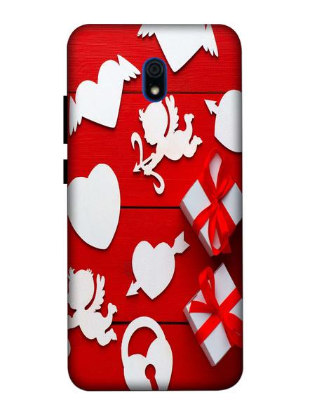 Xiaomi 3D Designer Elegent love Gifts Printed Mobile Cover-Redmi8A-MOB003000