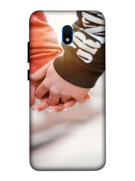 Xiaomi 3D Designer Hands Together Love Printed Mobile Cover-Redmi8A-MOB003019